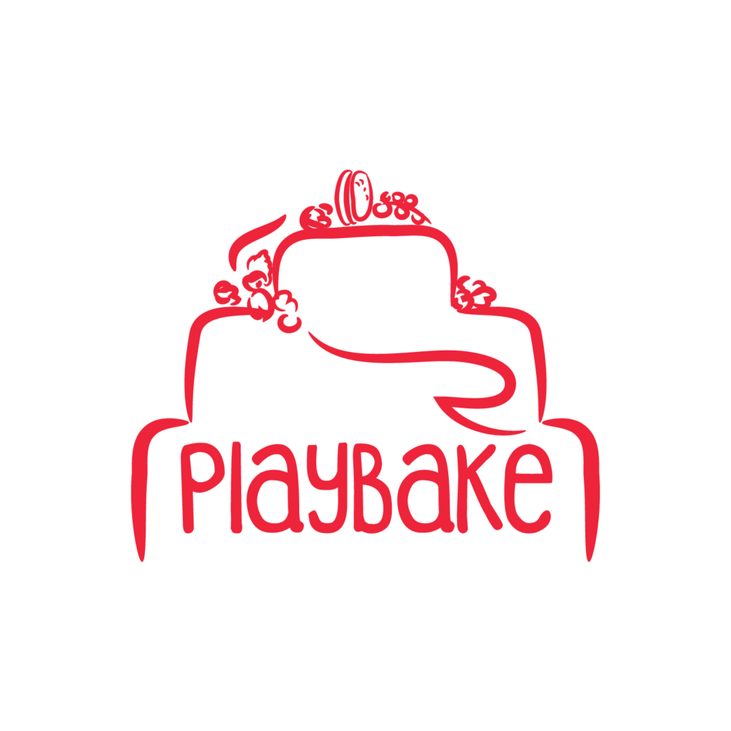 Logo playbake simple imagine