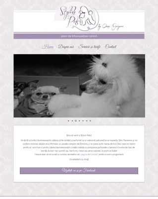 Stylish Pets website webdesign